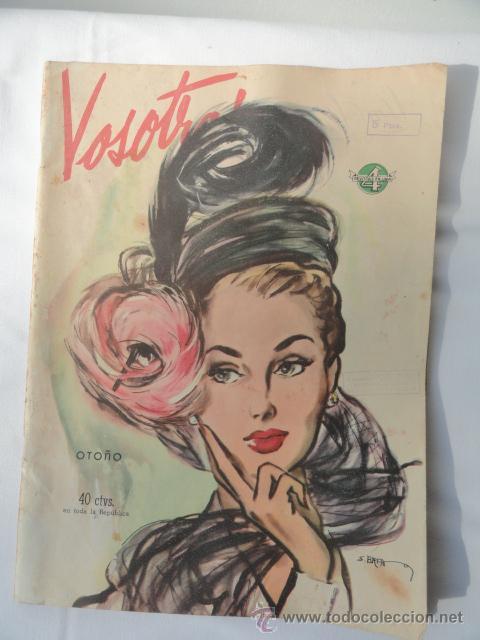 REVISTA VOSOTRAS. 19 MARZO 1948. (Coleccionismo - Revistas y Periódicos Modernos (a partir de 1.940) - Otros)