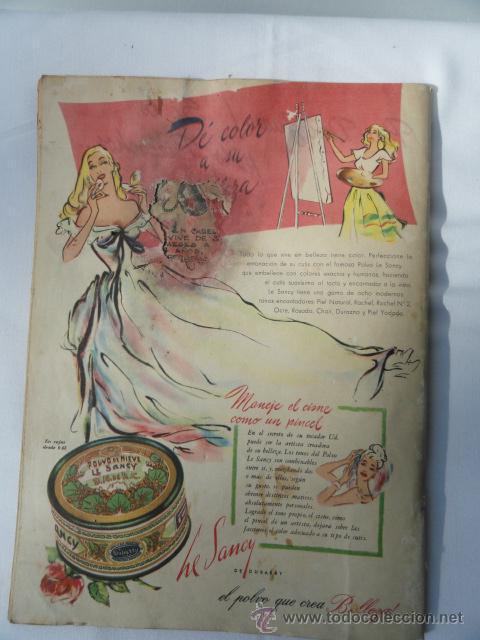 Coleccionismo de Revistas y Periódicos: REVISTA VOSOTRAS. 19 MARZO 1948. - Foto 3 - 46192144