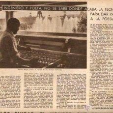 Coleccionismo de Revistas y Periódicos: AÑO 1962 CARLES BUHIGAS FONTS MONJUICH FUTBOL RAMALLETS SEMANA CINE NACIONAL SANT VICENÇ DELS HORTS. Lote 46276967