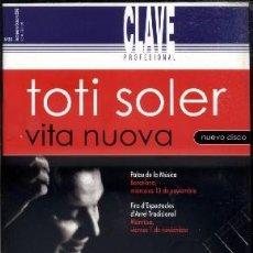Coleccionismo de Revistas y Periódicos: REVISTA CLAVE PROFESIONAL. N. 35. SEPTIEMBRE-OCTUBRE 2002. A-FLA-0742. Lote 46298714