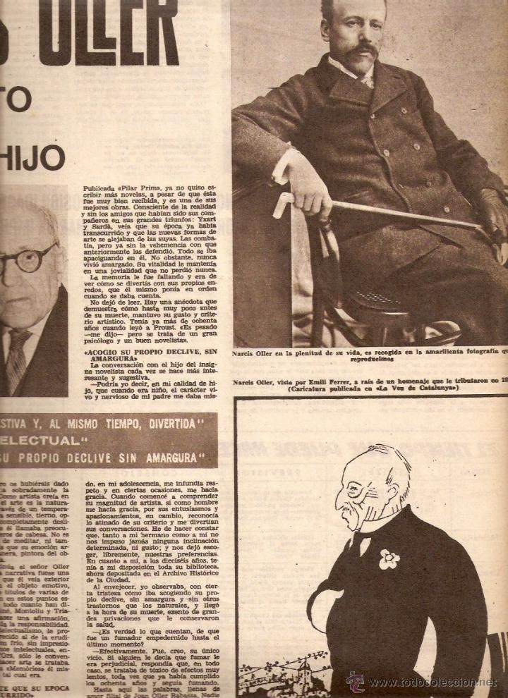 Coleccionismo de Revistas y Periódicos: AÑO 1962 ALGUER PROFESOR SCANU SOLIUS SANT AMANÇ THARRATS ARTE NARCIS OLLER JOAN MONES PASCUA FATJO - Foto 5 - 46305120