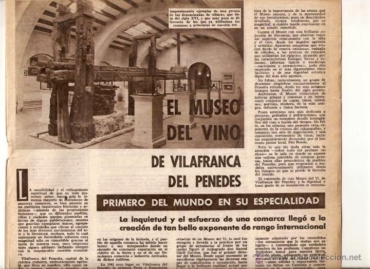 AÑO 1962 MUSEU DEL VI VILAFRANCA RUBI ESCUELA PROFESIONAL FUTBOL JUVENIL SANT VICENÇ DELS HORTS (Coleccionismo - Revistas y Periódicos Modernos (a partir de 1.940) - Otros)