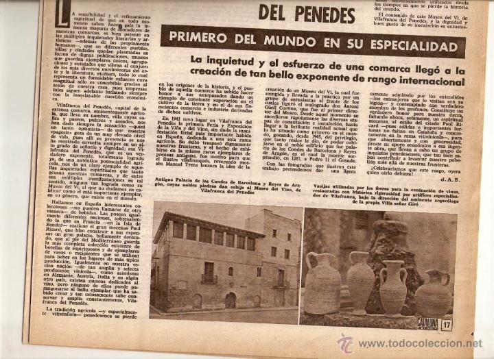 Coleccionismo de Revistas y Periódicos: AÑO 1962 MUSEU DEL VI VILAFRANCA RUBI ESCUELA PROFESIONAL FUTBOL JUVENIL SANT VICENÇ DELS HORTS - Foto 2 - 46305269
