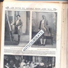 Coleccionismo de Revistas y Periódicos: REVISTA AÑO 1913 TENOR JAIME YLLA ILLA REGATAS DE GANDIA CRRERA A PIE CROSS EN BILBAO D. Lote 46335914