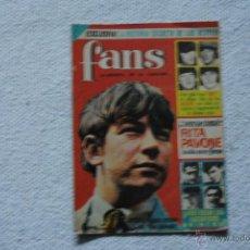 Coleccionismo de Revistas y Periódicos: REVISTA FANS Nº 15 AÑO 1965. Lote 46386010