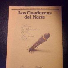 Coleccionismo de Revistas y Periódicos: LOS CUADERNOS DEL NORTE. REVISTA CULTURAL DE LA CAJA DE AHORROS DE ASTURIAS. AÑO I, Nº 4. OCTUBRE -. Lote 99850738