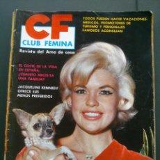 Coleccionismo de Revistas y Periódicos: JAYNE MANSFIELD REVISTA CLUB FEMINA .Nº12. 1963. Lote 46392473