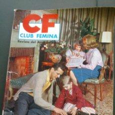 Coleccionismo de Revistas y Periódicos: MARISOL EL AÑO NUEVO. REVISTA CLUB FEMINA .Nº9. 1963. Lote 46392630