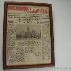 Coleccionismo de Revistas y Periódicos: LA VANGUARDIA POSTAL.-VALENCIA.-AÑO 1937.-REVISTA.-ENMARCADO.. Lote 46434699