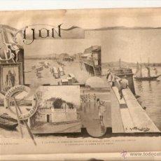 Coleccionismo de Revistas y Periódicos: AÑO 1897 ECO ASESINATO CANOVAS EN PRENSA INTERNACIONAL ABANICO DE EL IMPARCIAL GIJON MARTINEZ ABADES. Lote 46441350