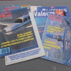Coleccionismo de Revistas y Periódicos: LOTE DE SEIS REVISTAS DE AVIONES COMERCIALES. TEXTOS EN FRANCES. Lote 46450731