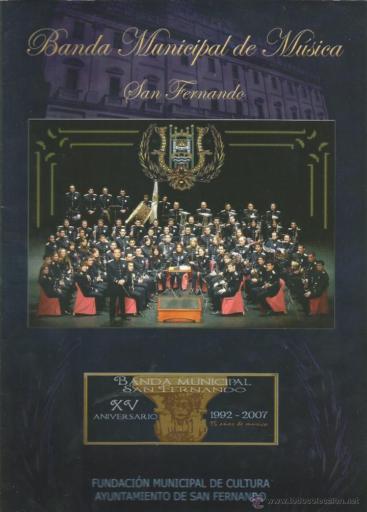 revista banda municipal de musica san fernando - Comprar Otras ...