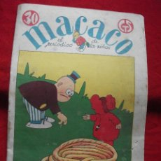 Coleccionismo de Revistas y Periódicos: MACACO EL PERIODICO DE LOS NIÑOS Nº84 DE 1929. Lote 46483505