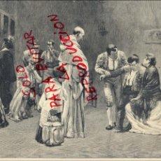 Coleccionismo de Revistas y Periódicos: TOROS 1897 LA MUERTE DEL TORERO ILUSTRACION HOJA REVISTA. Lote 46506277