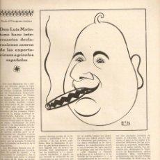 Coleccionismo de Revistas y Periódicos: AÑO 1929 ARTE PALACIO NACIONAL GOYA LUIS MATUTANO OSELITO MARTINEZ DE LEON LOS AMIGOS DEL TORO . Lote 46511319