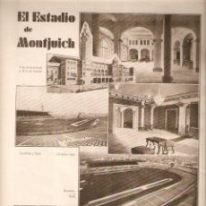 Colecionismo de Revistas e Jornais: AÑO 1930 SARSANEDAS ORIOL LACADOR ESTADIO MONTUICH METRALLA TOMAS IBAÑEZ TARRAGONA ACUEDUCTO GALWEY . Lote 46547454