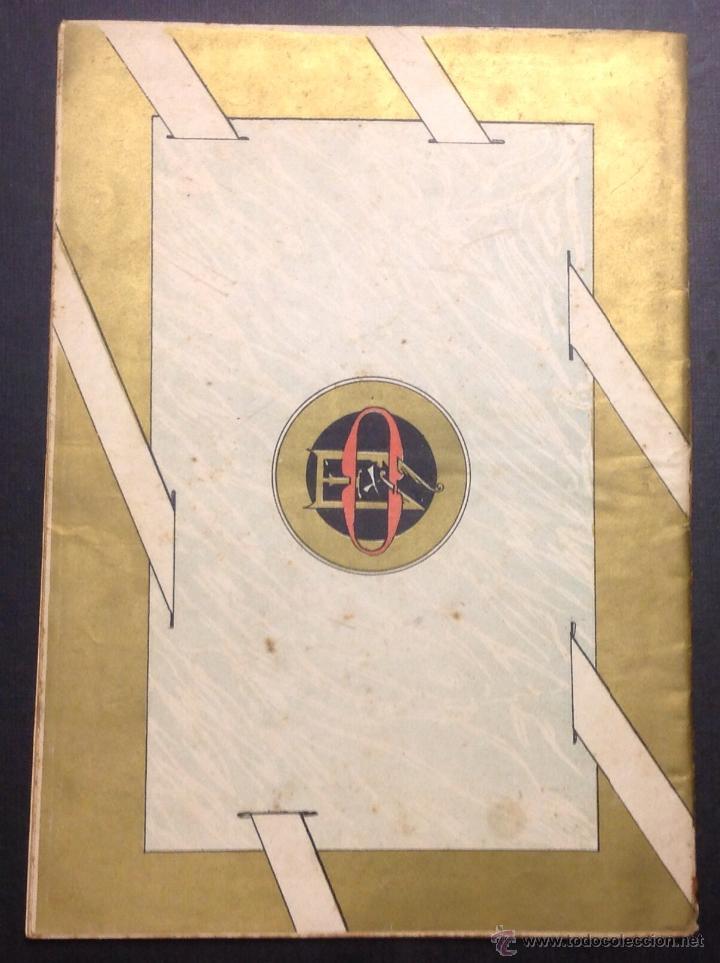 Coleccionismo de Revistas y Periódicos: ALMANAQUE DE BARCELONA CÓMICA PARA 1892. ILUSTRACIÓN DE PORTADA DE ESCALER. - Foto 6 - 46559295