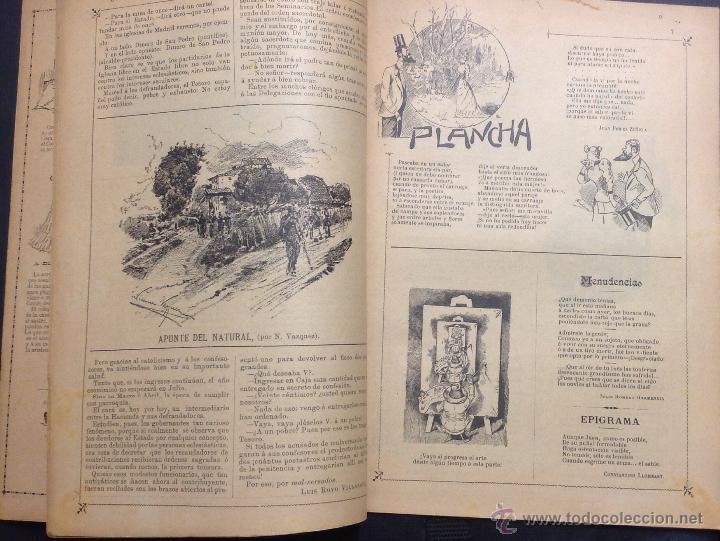 Coleccionismo de Revistas y Periódicos: ALMANAQUE DE BARCELONA CÓMICA PARA 1893. - Foto 4 - 46559383