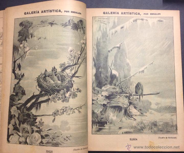 Coleccionismo de Revistas y Periódicos: ALMANAQUE DE BARCELONA CÓMICA PARA 1893. - Foto 5 - 46559383