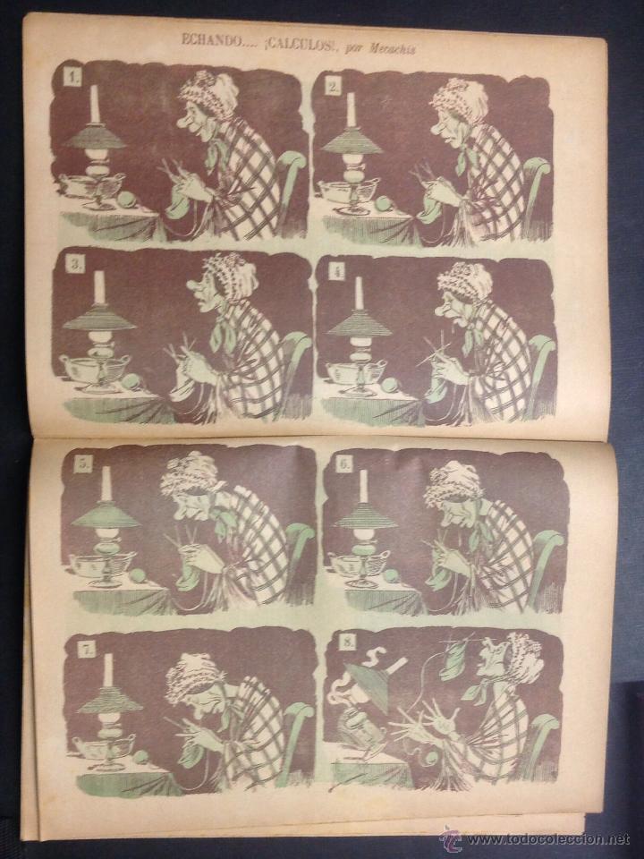 Coleccionismo de Revistas y Periódicos: ALMANAQUE DE BARCELONA CÓMICA PARA 1893. - Foto 7 - 46559383