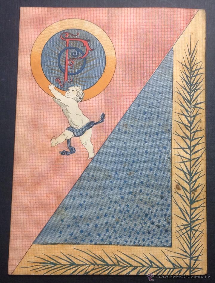 Coleccionismo de Revistas y Periódicos: ALMANAQUE DE BARCELONA CÓMICA PARA 1893. - Foto 8 - 46559383
