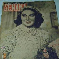 Coleccionismo de Revistas y Periódicos: REVISTA SEMANA - 4 NOV. 1941 - HISTORIA DE LA CONQUISTA DE UN PUEBLO EN RUSIA - VER FOTOS ADJUNTAS-. Lote 26348819
