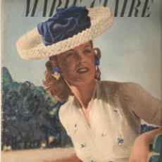 Coleccionismo de Revistas y Periódicos: AÑO 1943 REVISTA FRANCESA MARIE CLAIRE EN FRANCES MODA COCINA CONSEJOS EN PLENA GUERRA. Lote 46575925