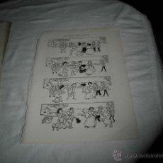Coleccionismo de Revistas y Periódicos: LA GALLINA CIEGA HISTORIETA MUDA POR Z HOJA REVISTA BLANCO Y NEGRO 1906. Lote 46601792
