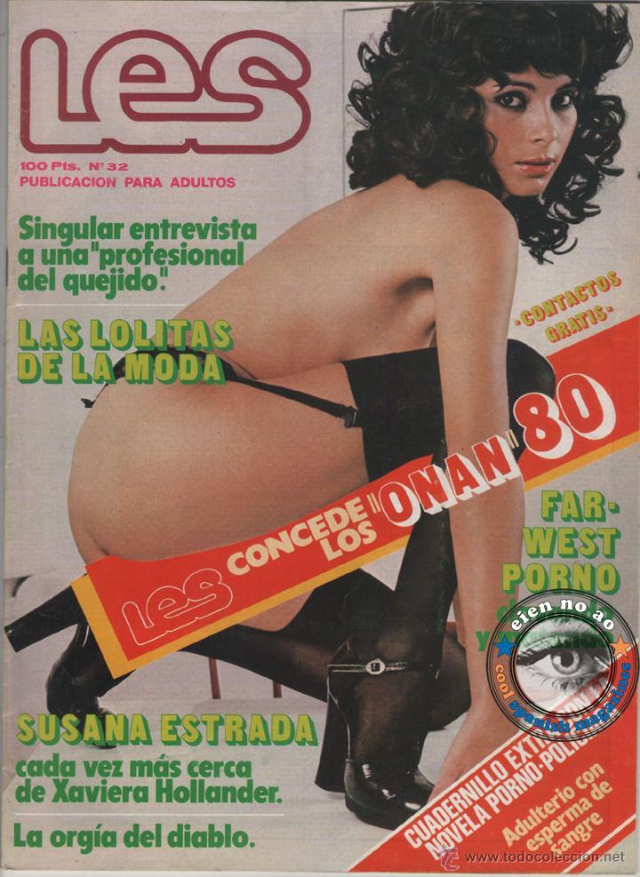 LES # 32 / 1978 ~JONI FLYNN~BRIGITTE LAHAIE~SUSANA ESTRADA~TERESA ANN SAVOY~LOLITAS~NORBERT TERRY (Coleccionismo - Revistas y Periódicos Modernos (a partir de 1.940) - Otros)