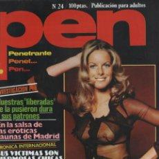 Coleccionismo de Revistas y Periódicos: REVISTA PEN # 24 / 1979 ~ JANE WARNER ~ THE WARRIORS ~ EDWIGE FENECH. Lote 46633718