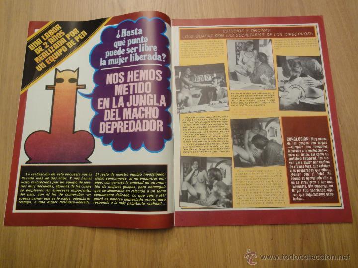Coleccionismo de Revistas y Periódicos: Revista PEN # 24 / 1979 ~ JANE WARNER ~ THE WARRIORS ~ EDWIGE FENECH - Foto 4 - 46633718