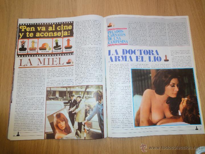 Coleccionismo de Revistas y Periódicos: Revista PEN # 24 / 1979 ~ JANE WARNER ~ THE WARRIORS ~ EDWIGE FENECH - Foto 11 - 46633718