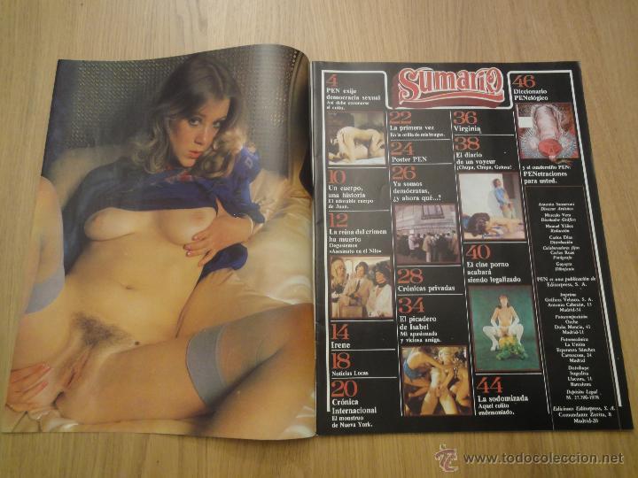 Coleccionismo de Revistas y Periódicos: Revista PEN # 12 / 1978 ~ - Foto 2 - 46635434