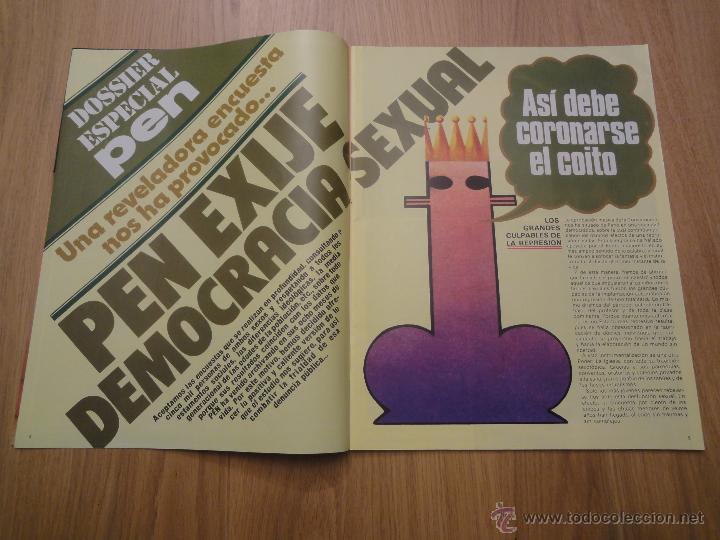 Coleccionismo de Revistas y Periódicos: Revista PEN # 12 / 1978 ~ - Foto 3 - 46635434