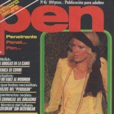 Coleccionismo de Revistas y Periódicos: REVISTA PEN # 6 / 1978 ~ AMANDA SUE ADEY. Lote 46635895