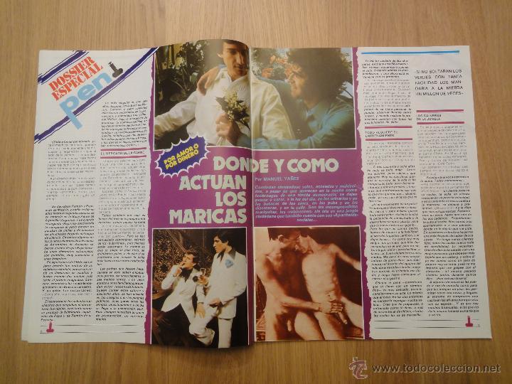 Coleccionismo de Revistas y Periódicos: Revista PEN # 3 / 1978 ~ La España HOMOSEXUAL ~ FLORINDA BOLKAN ~ MARIA SCHNEIDER - Foto 3 - 46636071