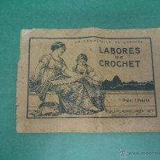 Coleccionismo de Revistas y Periódicos: LA CANASTILLA DE LABORES LABORES DE CROCHET. Lote 46665160
