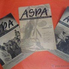 Coleccionismo de Revistas y Periódicos: 3 REVISTAS ASPA . Lote 46666597