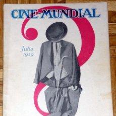Coleccionismo de Revistas y Periódicos: CINE-MUNDIAL JULIO 1929. Lote 46666869