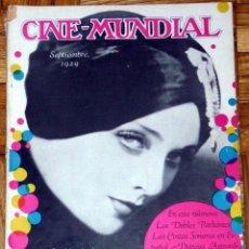 Coleccionismo de Revistas y Periódicos: CINE-MUNDIAL SEPTIEMBRE 1929. Lote 46667585