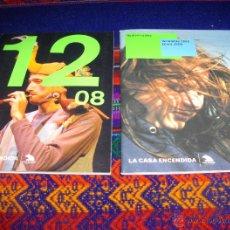 Coleccionismo de Revistas y Periódicos: CASA ENCENDIDA PROGRAMA DICIEMBRE 2008 Y AUDIOVISUALES ENERO 2009. CAJA MADRID. BE.. Lote 46672916