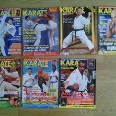 Coleccionismo de Revistas y Periódicos: REVISTA - LOTE DE 7 REVISTAS (LOTE 7) KARATE - ARTES MARCIALES - ARTS MARTIAUX - EN FRANCES. Lote 46706881