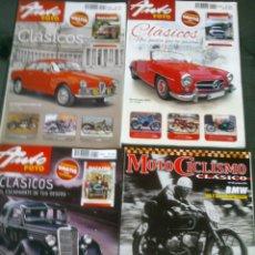 Coleccionismo de Revistas y Periódicos: LOTE REVISTAS AUTO FOTO CLASICOS MOTOCICLISMO CLASICO. Lote 46727480
