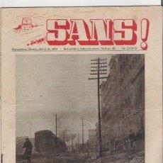 Coleccionismo de Revistas y Periódicos: SANS - REVISTA DEL BARRIO DE SANS DE BARCELONA 1958 . Lote 46730172
