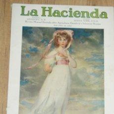 Coleccionismo de Revistas y Periódicos: LA HACIENDA, FEBRERO 1928. Lote 46757825