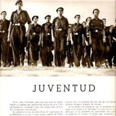 Coleccionismo de Revistas y Periódicos: AÑO 1939 RECORTE PRENSA MILICIA DE LA FALANGE JUVENTUD SEU MILICIA UNIVERSITARIA. Lote 46764497