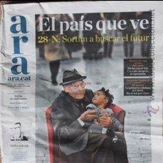 Coleccionismo de Revistas y Periódicos: DIARI ARA Nº 1 DEL 28 NOVEMBRE 2010 DIARI CATALÀ. Lote 46773514