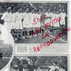 Coleccionismo de Revistas y Periódicos: FUTBOL 1930 MADRID-BARCELONA HOJA REVISTA. Lote 46783336