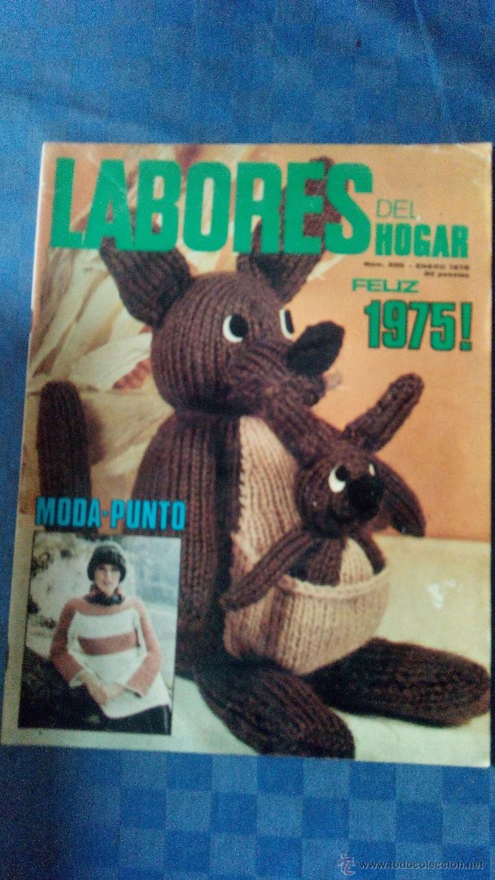 LABORES DEL HOGAR-N.200-1975 (Coleccionismo - Revistas y Periódicos Modernos (a partir de 1.940) - Otros)