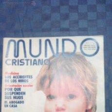 Coleccionismo de Revistas y Periódicos: MUNDO CRISTIANO-N.147-1975. Lote 46815496